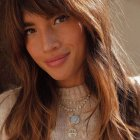 Hairstyles for long hair with fringe 2021