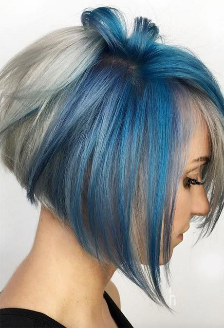 Short hairstyles and color for 2021