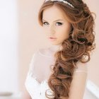 Hairstyle for wedding 2016