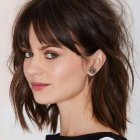 Hairstyles with bangs 2016