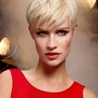 Short cropped hairstyles 2016