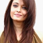 Best haircut for round face women