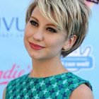 Best short cuts for round faces