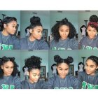 Cute styles for naturally curly hair