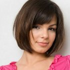 Easy short hairstyles for round faces