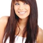 Front cut hairstyles for round face