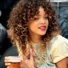 Full curly hairstyles