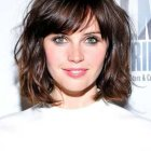 Good hairstyles for round face female