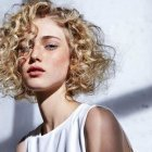 Hairstyle for curly hair female