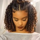 Hairstyles for medium natural curly hair