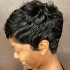 Hairstyles for really short black hair