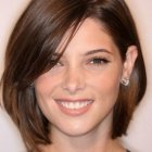 Ideal haircut for round face