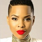 Latest african short hairstyles