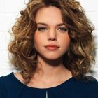 New hairstyles for medium curly hair