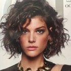 New short curly hairstyles 2019