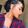 Pictures of short haircuts for black hair