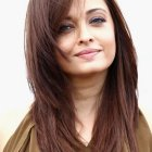 Round face haircut gallery
