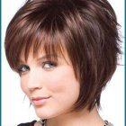Short haircuts for ladies with round faces
