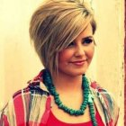 Short haircuts for women with fat faces