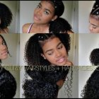 Simple hairstyles for naturally curly hair