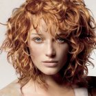 Stylish haircuts for curly hair