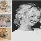 Updos for medium layered hair