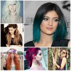 Hairstyles and color 2016