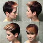 Short hairstyles and color for 2016