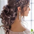 Curly hair updos for homecoming