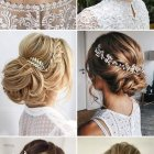 Curly updos