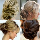 Hair design for wedding party