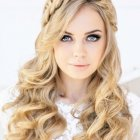 Hairstyle for women for prom