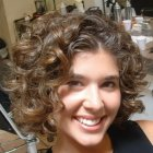 Hairstyles naturally curly thick hair