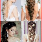 Long hairstyle for wedding party