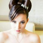 Pin up hairstyles for prom