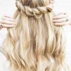 Pretty homecoming hairstyles
