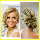 Side updos for prom