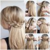 Easy hairdos for long thick hair