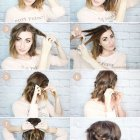 Everyday hairstyles for mid length hair