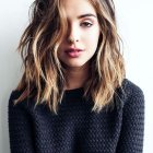 Long mid length hairstyles