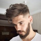 New fashion hairstyle for man