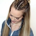 Quick and easy updos for thick hair