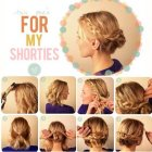 Quick and simple hairstyles for short hair