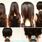 Quick hairstyles for long hair at home