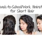 Short easy to do hairstyles
