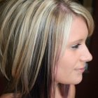 Shoulder length haircuts and color