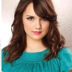 Shoulder length hairstyles for wavy hair