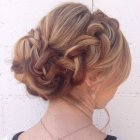 Thick hair updos