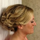 Updos for long thick hair