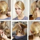 Hair style of